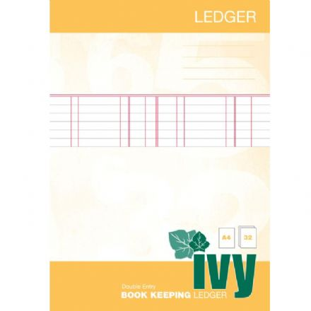 Ivy Book Keeping Ledger Book A4